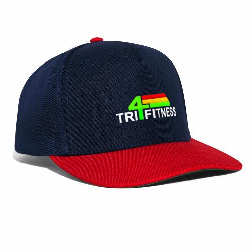tri4fitnes logo | White text - Snapback Cap