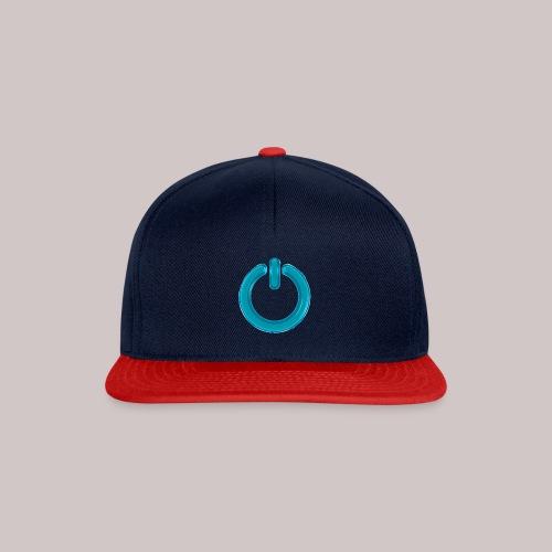 sb-button-azure - Snapback Cap
