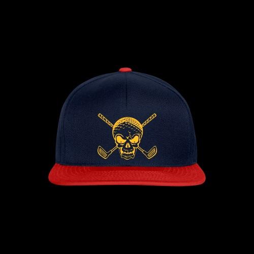 Schwarzlicht Semester Totenkopf - Snapback Cap