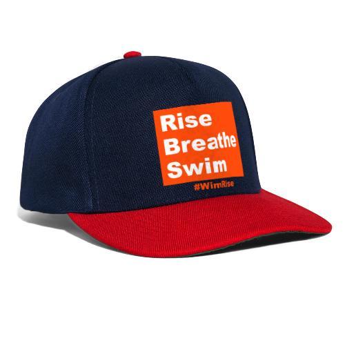Rise Breathe Swim - Snapback Cap
