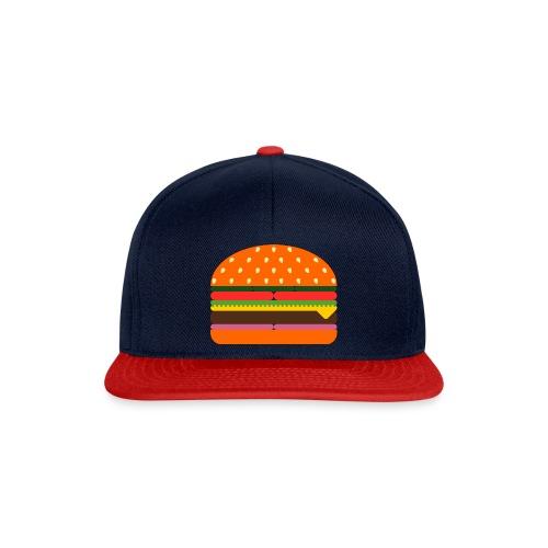 burger 3437618 - Snapback Cap