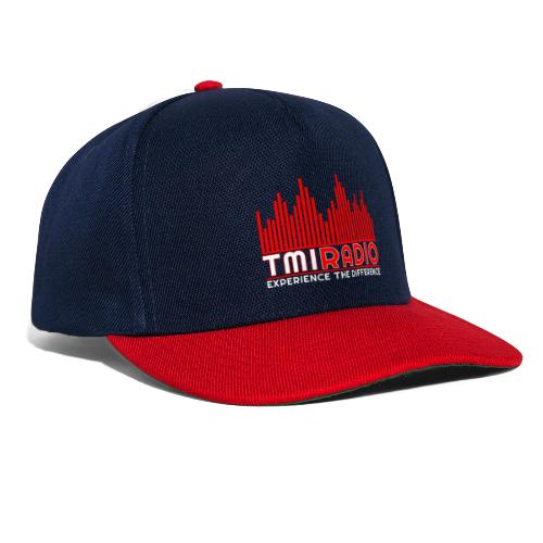 NEW TMI LOGO RED AND WHITE 2000 - Snapback Cap