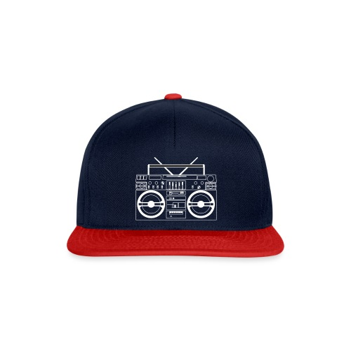 Boombox - WA - Snapback Cap