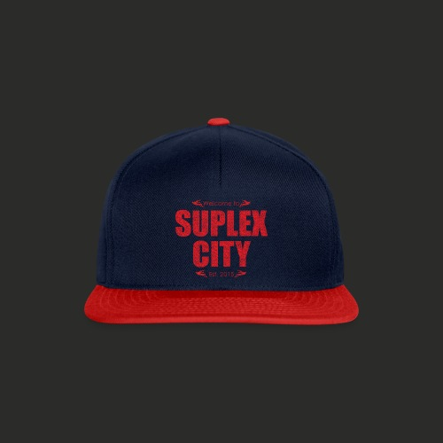 Suplex City Mens T-Shirt - Snapback Cap