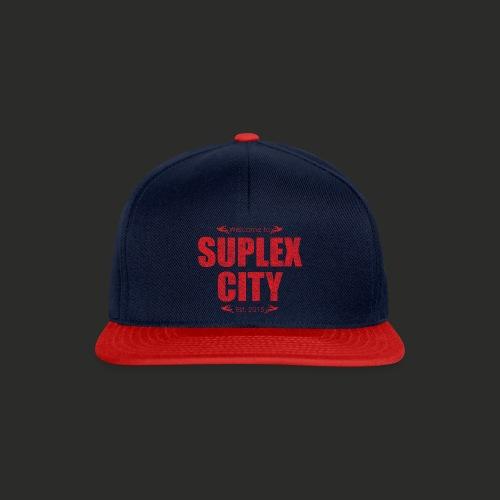 Suplex City Mens T-Shirt - Snapback Cap