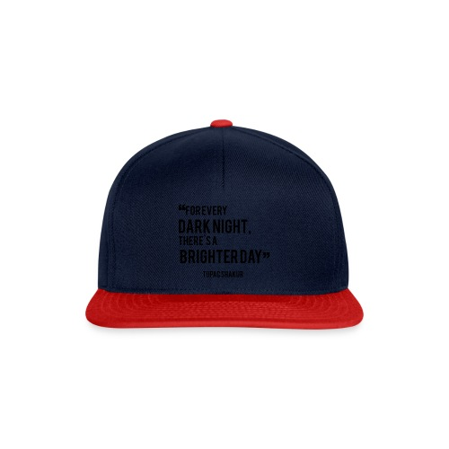 Mental Health Quote 2 - Snapback Cap
