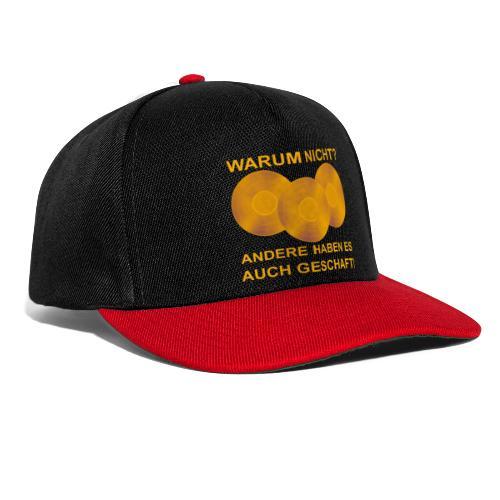 Goldene Schallplatte - Snapback Cap