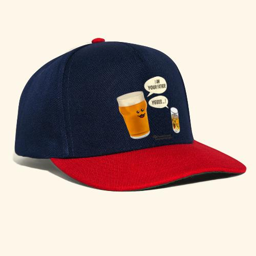 Bier & Whisky Spruch I am your father - Snapback Cap