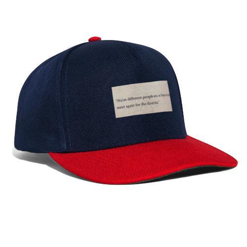 Time - Snapback Cap