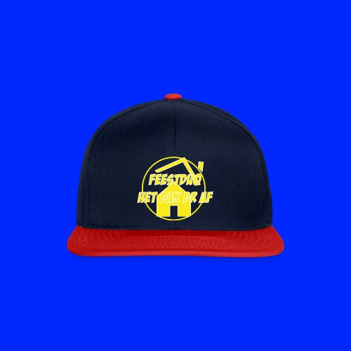Geel Logo - Snapback cap