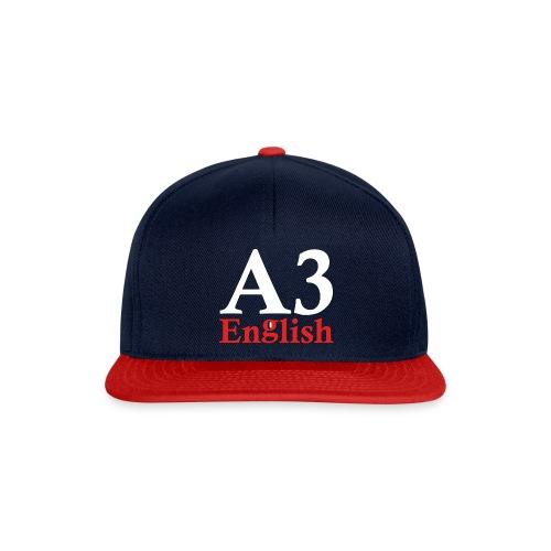 A3Small logo 2 - Snapback Cap