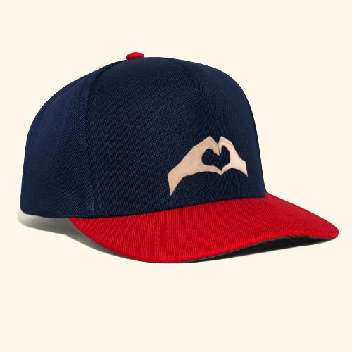 Mains Coeur Amour - Love hands - Casquette snapback