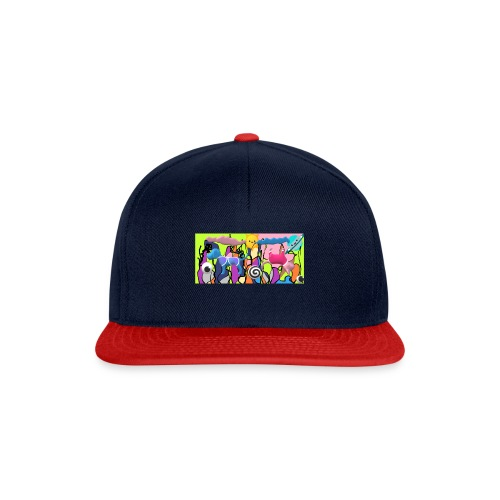 cats and dogs - Snapback Cap