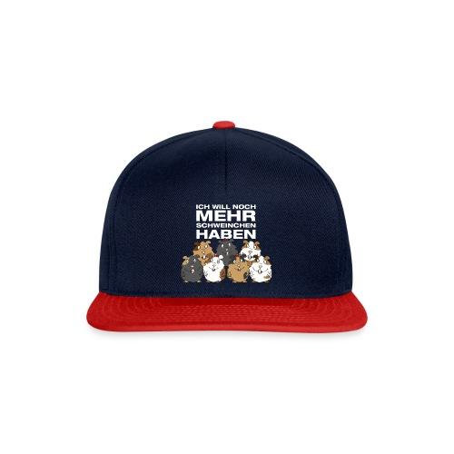 Ich will Mehr Schweinchen haben - Snapback Cap