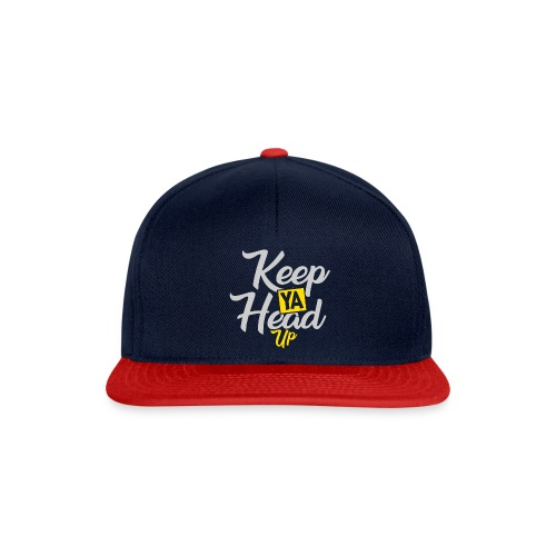 Keep Ya Head Up - Snapback Cap