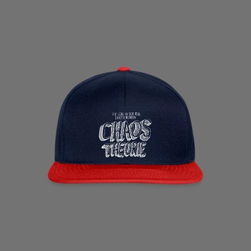Chaos Theory (valkoinen) - Snapback Cap