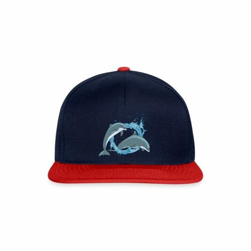 DELFINI CON ACQUASPLASH - Snapback Cap