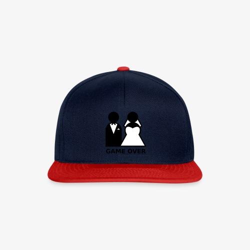 T-Shirt Game Over Junggesellenabschied - Snapback Cap