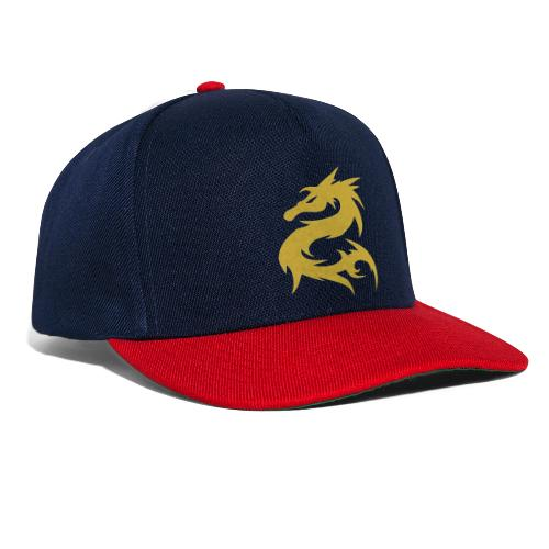 Dragon color de oro - Gorra Snapback