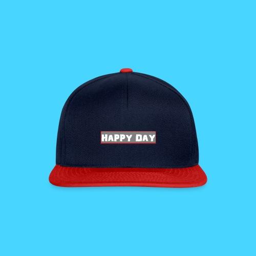 happy_day - Snapback Cap