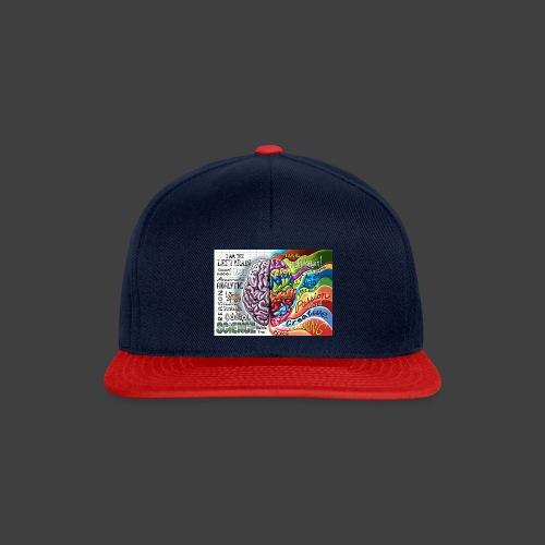 Brain LR - Snapback Cap
