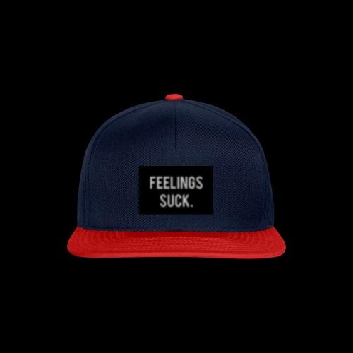 Feelings Suck - Snapback Cap