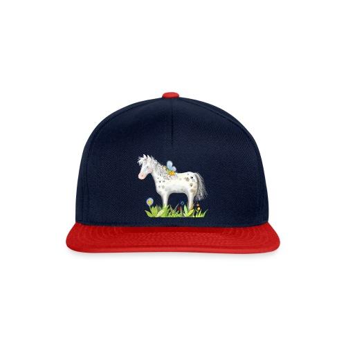 Fee. Das Pferd und die kleine Reiterin. - Snapback Cap