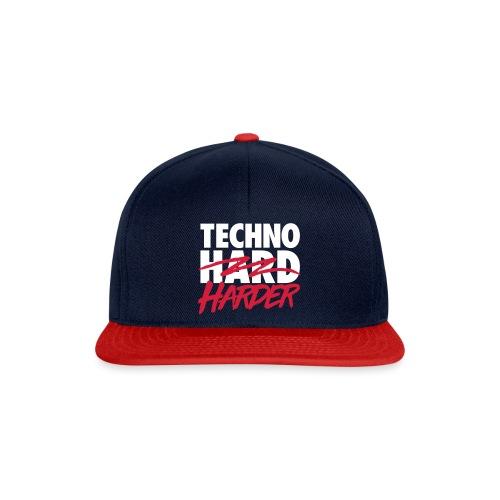 Techno harder - Snapback Cap