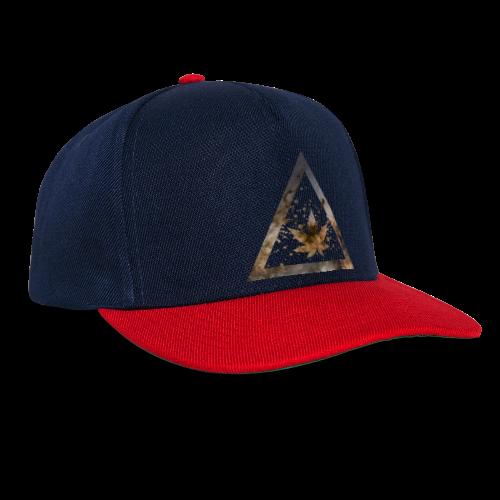 Galaxy Weed Marijuana Triangle with Splashes - Snapback Cap