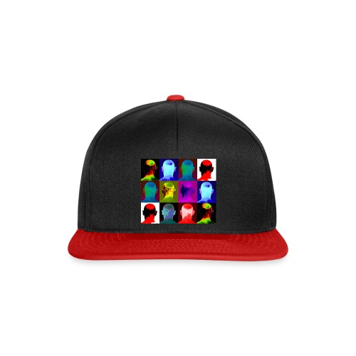Man You Never Knew - 12 heads - Snapback Cap