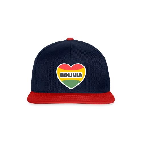 Bolivia en mi corazón tricolor - Gorra Snapback