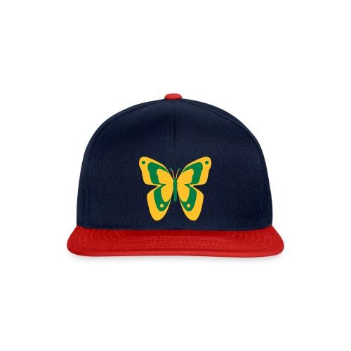 Schmetterling Falter Insekten Frühling Sommer - Snapback Cap