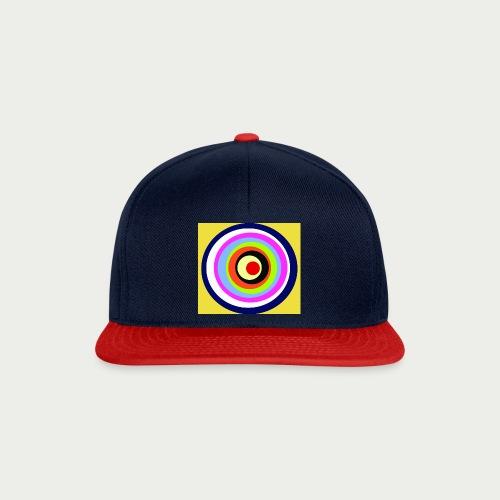 Maske Kreisende Farben - Snapback Cap