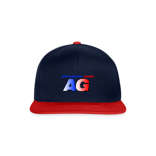 AG climatisation LOGO - Casquette snapback
