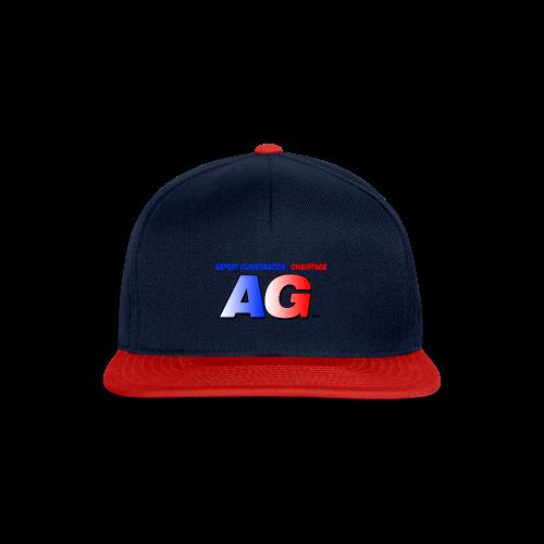 AG climatisation LOGO - Casquette snapback