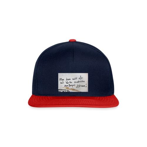 Zitronen - Snapback Cap