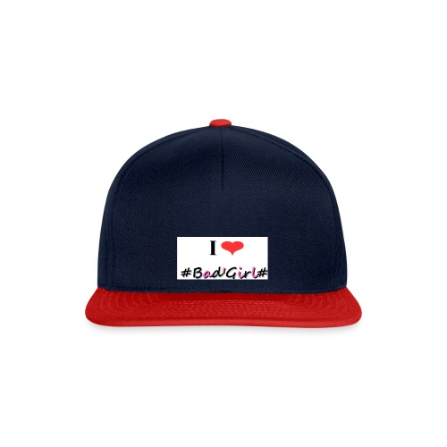 Collection Hastag I love bad girl - Casquette snapback
