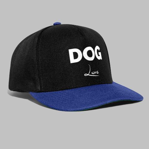 DOG LOVE - Geschenkidee für Hundebesitzer - Snapback Cap