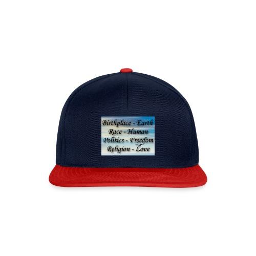 I Choose peace - Snapback Cap