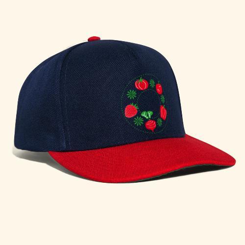 Frutos rojos del huerto - Gorra Snapback