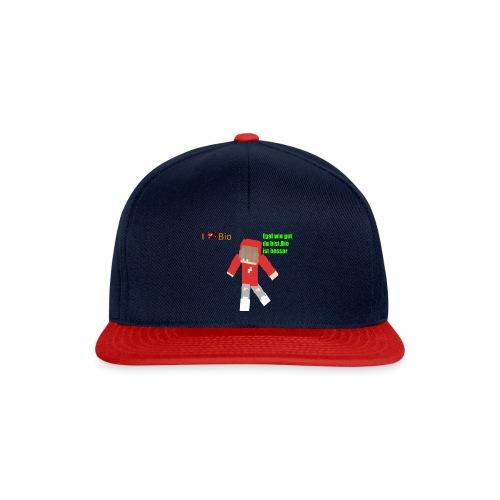 I <3 Bio - Snapback Cap