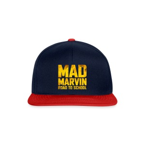 Mad Marvin: Road To School - Snapback Cap