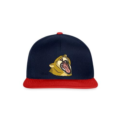 Gähnender / brüllender Löwe - Snapback Cap