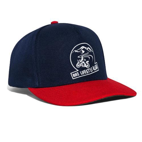 Logo - Weiß - Snapback Cap