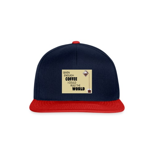 Coffee Champion - Snapback Cap