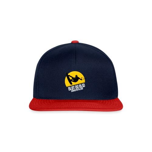 BLØT OG BLID 2 hvit - Snapback-caps