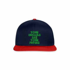 Future Clothing Slogan - Green Text - Snapback Cap