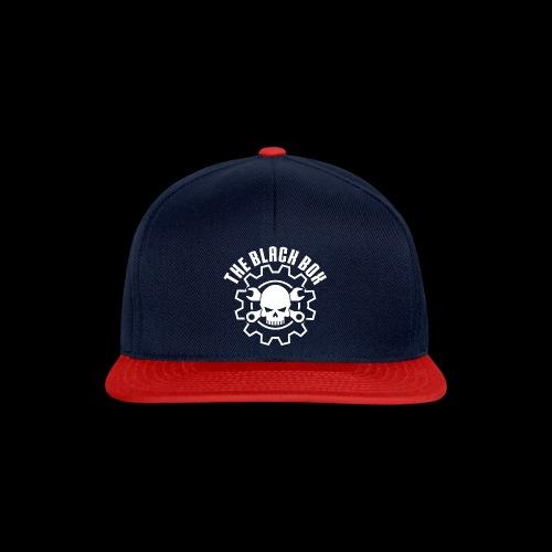 Black box bianco - Snapback Cap
