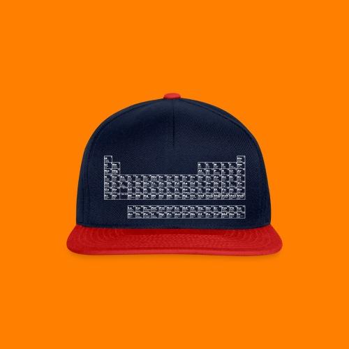 periodic white - Snapback Cap