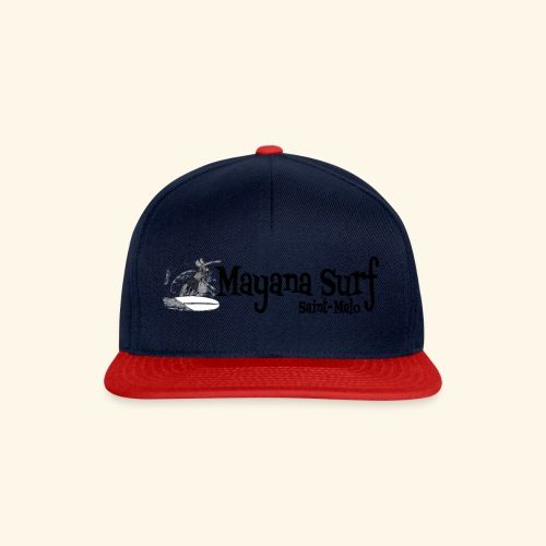 Mayana Surf white and black :) - Casquette snapback